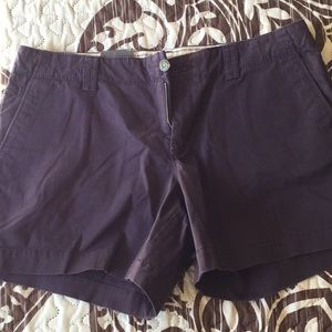 Old Navy plum shorts 10 NWT